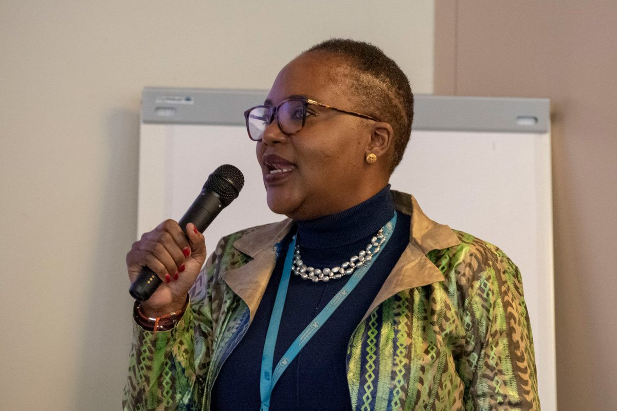 """""""If we put the people at the centre, we will always be successful.""""  Thank you Dr @mwelentuli, Director of @WHO #NTDs, for your inspiring presentation to our team and your support for R&D and innovation in public health!"""