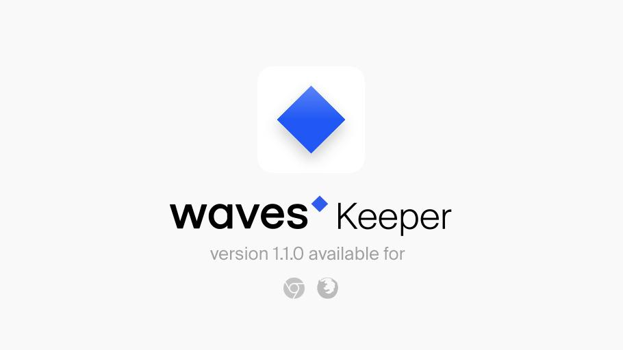 Meet the next #Waves Keeper update, with a bunch of cool new features! In version 1.1.0 you can assign autosignature and autoconfirmation for certain dApps, and define transaction limits. We also added custom network support and made other improvements. $WAVES #web3