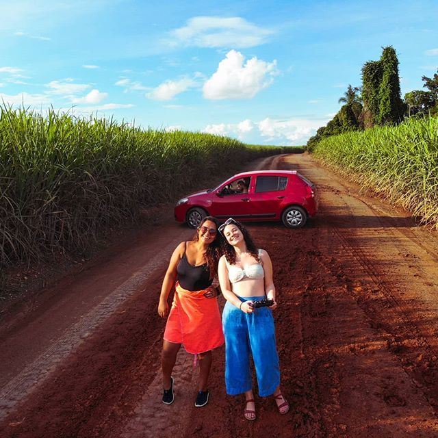 Jamie Ditaranto on Twitter: Okay, maybe @marianamatooos and I got a little bit lost in the sugar cane, but that's no reason not to stop for a #droneselfie while @pachecoweverton looks up directions. #womenwhodrone . . . #drone #dronephotography #aerialphotography #aerialselfie #aer…