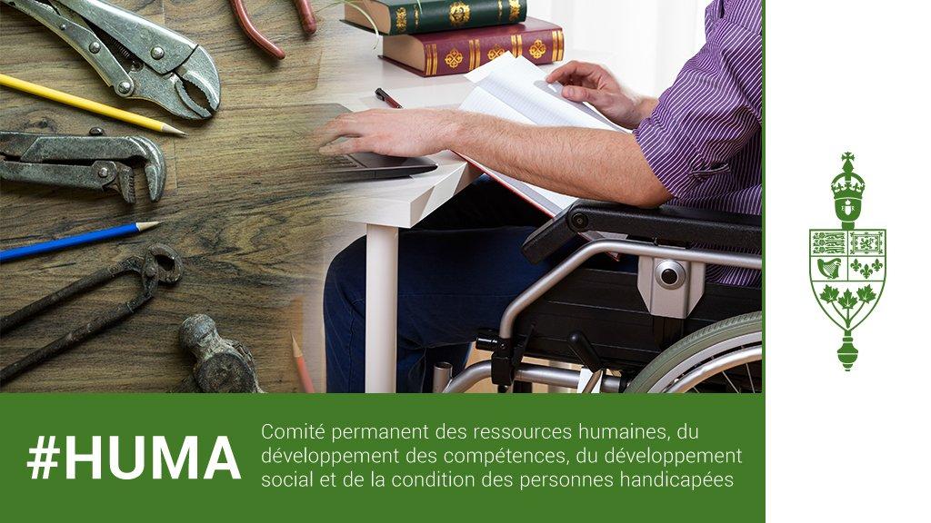 #HUMA 11 h HAE : M-190, Pénuries de main-d'œuvre dans la région du Grand Toronto et de Hamilton / Objet du Budget supplémentaire des dépenses (B) 2018-2019, avec la comparution de @PattyHajdu http://ow.ly/NqW350ntvkQ Regardez en direct : http://www.noscommunes.ca/diffusion-web/42-1/HUMA/139… #polcan