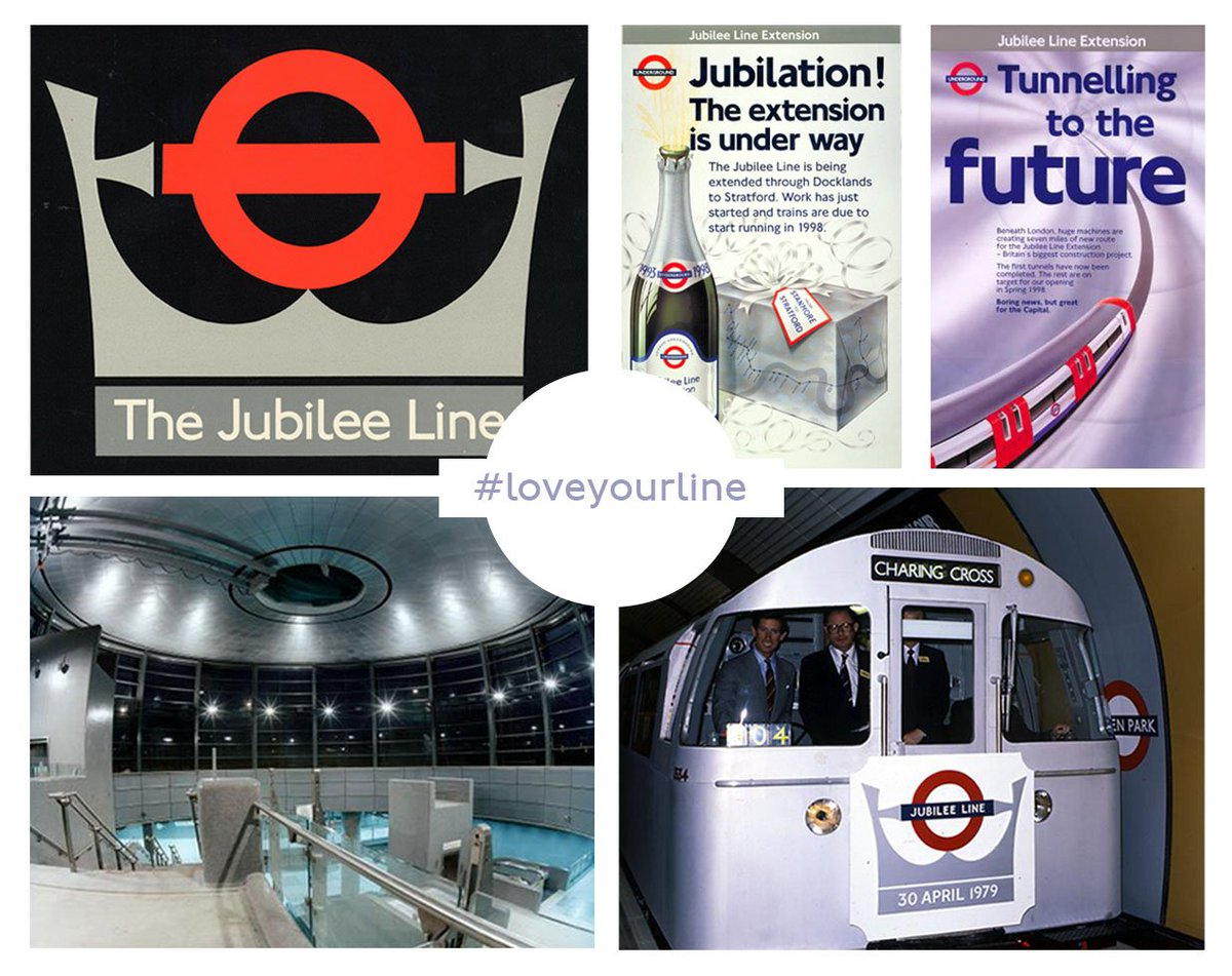 D2BmFISXcAAY8yZ - Jubilee Line 40th Anniversary