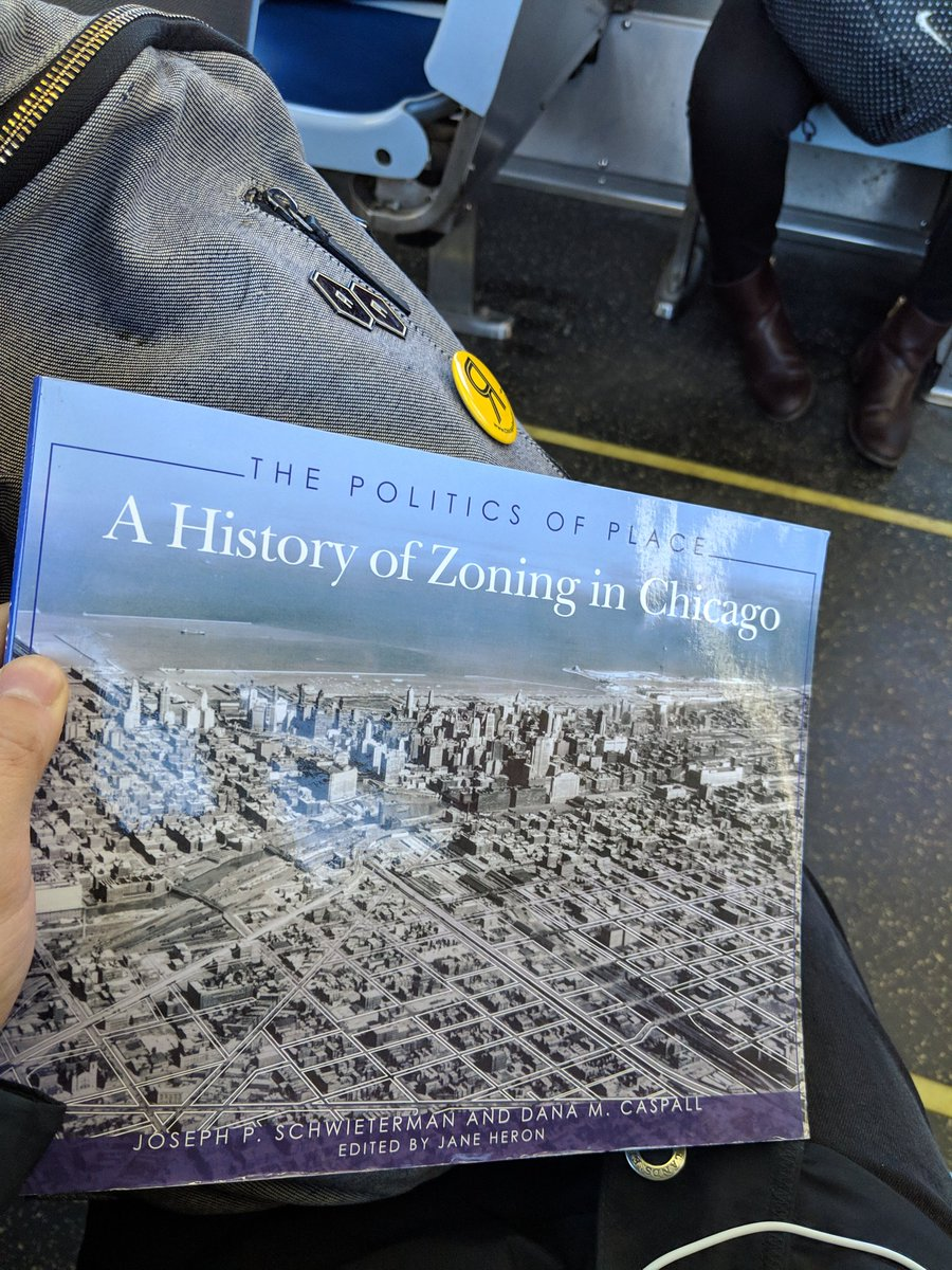 &quot;Only in Chicago can zoning be epic&quot; -- the back cover of this book #CTAReads<br>http://pic.twitter.com/a2RWX040Qh