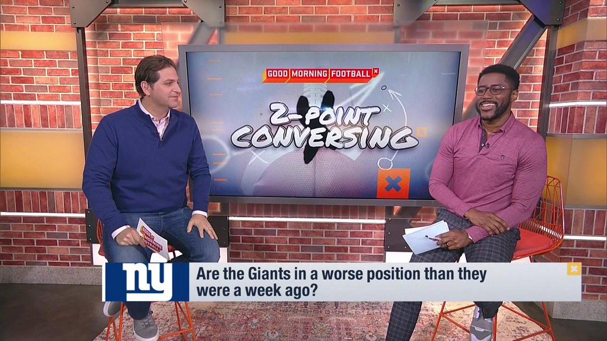 True or False. The Giants are worse off now than they were one week ago.   @nateburleson and @PSchrags debate.