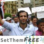 Image for the Tweet beginning: NEW #SETTHEMFREE CASE→Haitham Mohamedeen is