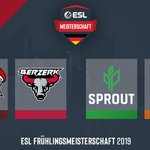 Image for the Tweet beginning: Die Halbfinale der #ESLMeisterschaft in