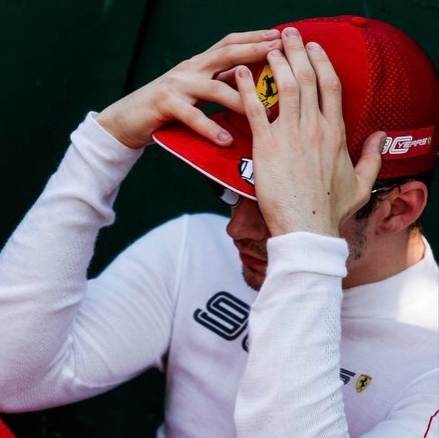 Media Pressure for a Ferrari drivers is not easy task to handle.. Young Charles Leclerc before the race start at Australian GP.  Binotto and other Ferrrari team members had a word with Charles before his debut race to ease some pressure off.  #F1 #Charles16<br>http://pic.twitter.com/dr2lWIfaYo