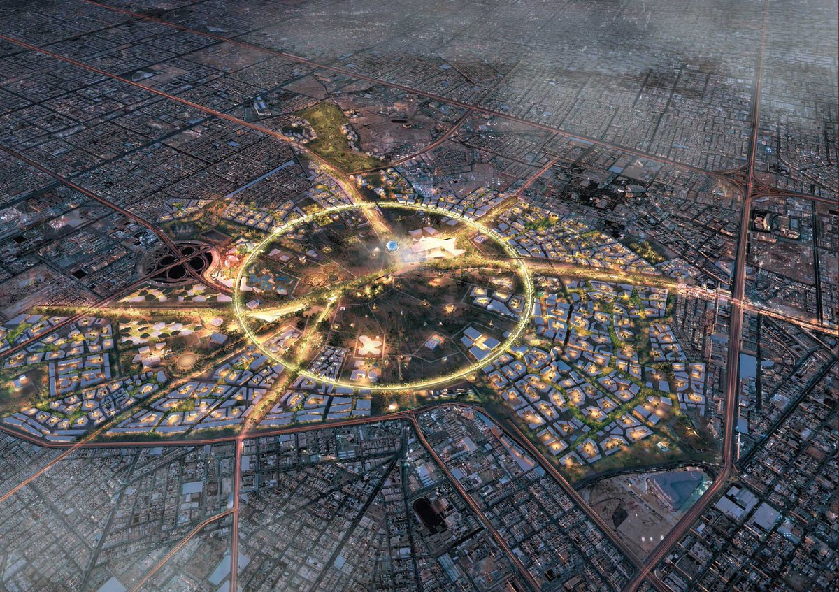 Saudi Arabia announces plans to increase green spaces in the capital, including plan to convert Riyadh air base into a major park<br>http://pic.twitter.com/Pc38LYruad