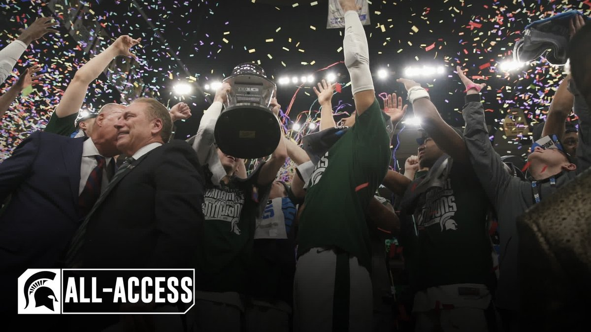 Go All-Access on our trip to Chicago over the weekend at the #B1GTourney! 📽️ #SpartanDawgs