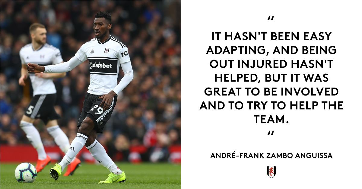 André-Frank on...  ▫️Getting back in that starting XI ▫️Deserving more v. Liverpool ▫️The support of his teammates ▫️Drawing strength from the #FFC fans  All here: http://ow.ly/q9q530o6ypJ