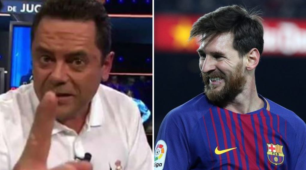 Spanish pundit claims Lionel Messi will 'disappear' and 'hide' against Manchester United http://www.sportbible.com/football/fails-spanish-pundit-claims-messi-will-hide-against-manchester-united-20190319?fbclid=IwAR3dHP7UAYkipuldhIa8sd96lsEBvtHn_Jb195zNrn-X35NCe55aqycwktk?source=twitter …