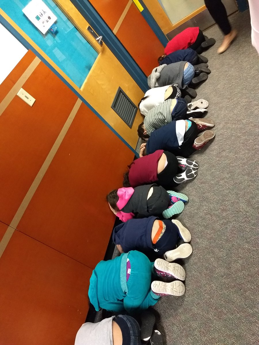 We practiced for the tornado drill today at 9:45. <a target='_blank' href='http://search.twitter.com/search?q=KWBPride'><a target='_blank' href='https://twitter.com/hashtag/KWBPride?src=hash'>#KWBPride</a></a> <a target='_blank' href='https://t.co/pvmQQrvVDd'>https://t.co/pvmQQrvVDd</a>
