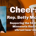 Image for the Tweet beginning: Thanks @BettyMcCollum04 for sponsoring the