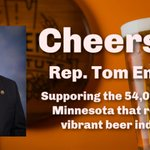 Image for the Tweet beginning: Thank you @RepTomEmmer for sponsoring