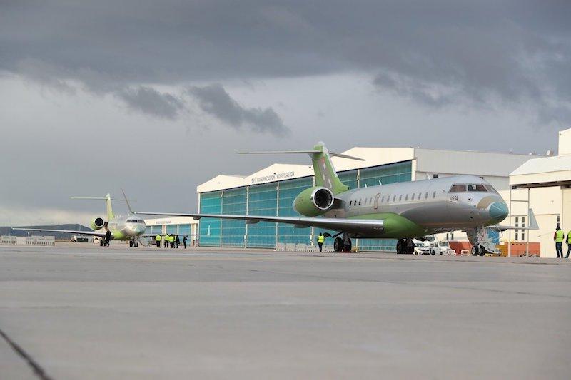 وصول طائرات bombardier global 6000 التي ستحمل نظم الحرب الإلكترونية المحلية HAVA SOJ إلى تركيا D2Bs9yvX0AEF6tZ