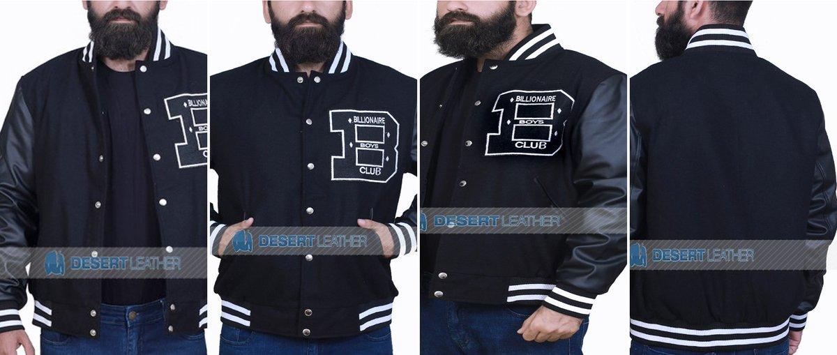 Grab Wool &amp; Faux Leather BILLIONAIRE BOYS CLUB BBC VARSITY JACKET  https:// bit.ly/2JkXYKR  &nbsp;   #bbcvarsityjacket #varsitystyle #streetwear #boysclubjacket #varsitystylebbcjacket #BillionaireBoysClub #bbcjacket<br>http://pic.twitter.com/YK7n4DI97J