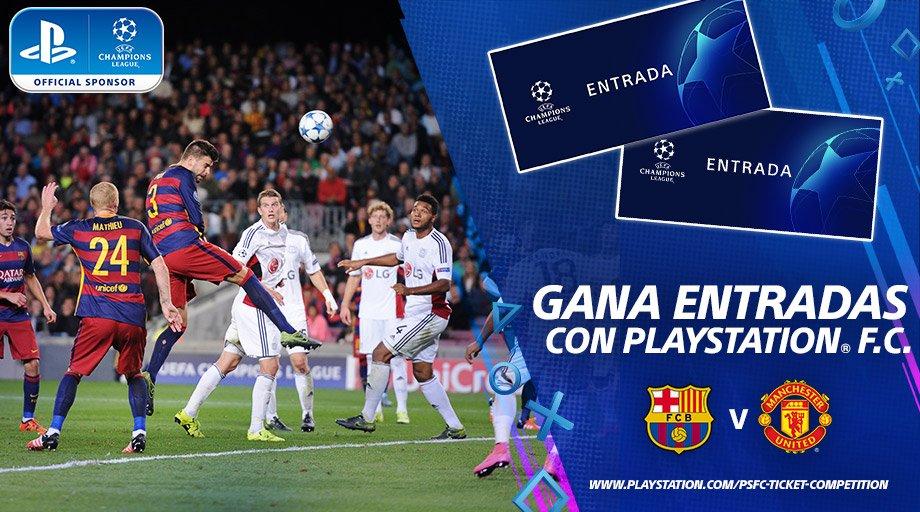 ¡Gana entradas para los cuartos de la @LigadeCampeones con #PlayStationFC!⚽🎫 Participa aquí 👉http://www.playstation.com/psfc-ticket-competition…