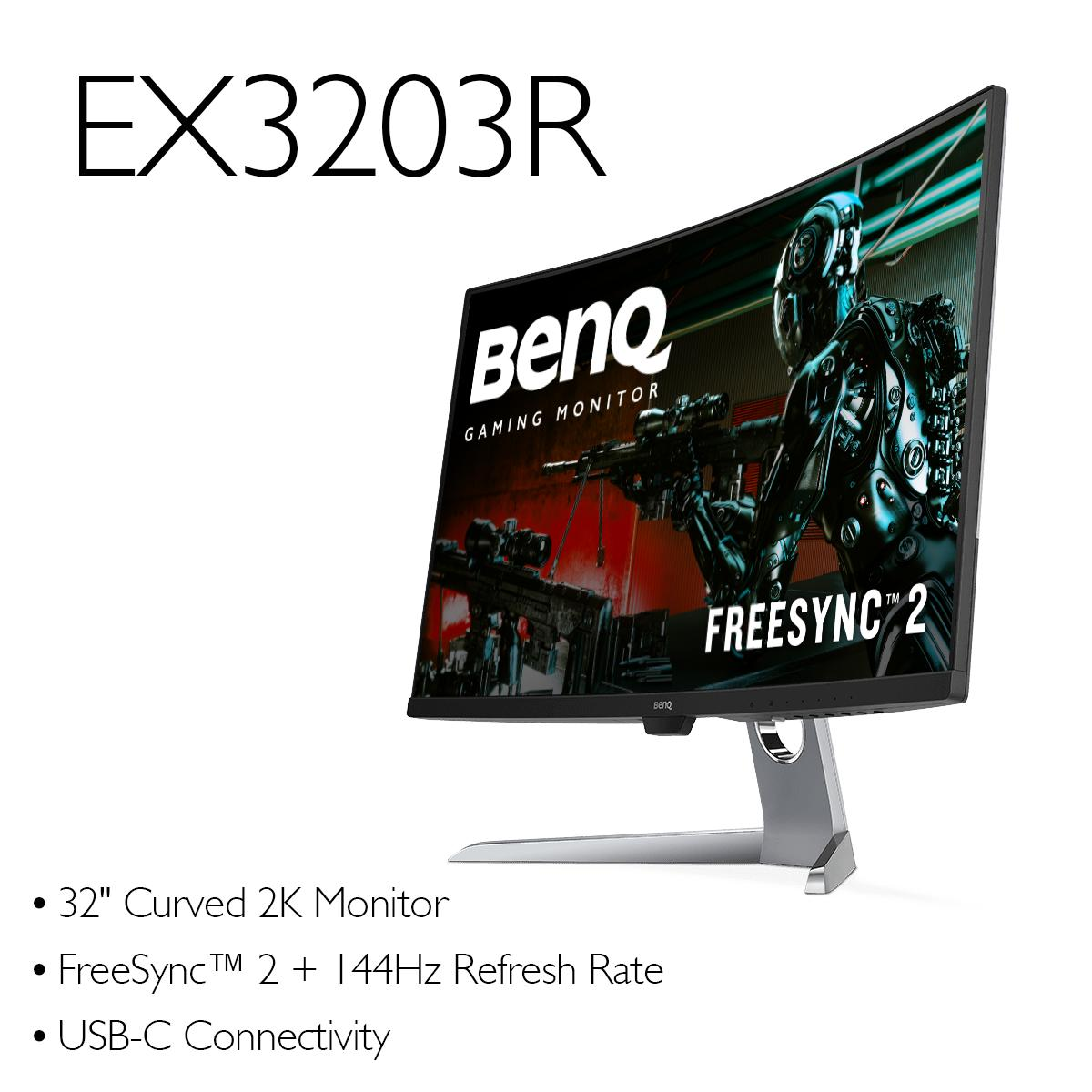 Our stunning curved #FreeSync monitors are on sale for a limited time. Upgrade your gaming, home, or office setup with a new BenQ monitor!  See more of our gaming and entertainment monitors here: http://bit.ly/2SC75eq  #gaming #monitor #sale