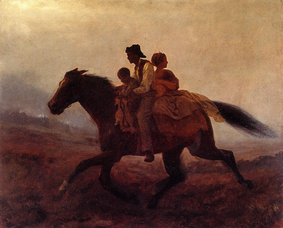 A Ride for Freedom - The Fugitive Slaves, 1862  https://www. wikiart.org/en/eastman-joh nson/a-ride-for-freedom-the-fugitive-slaves-1862 &nbsp; …  #johnson #wikiart<br>http://pic.twitter.com/ChwO2WcByo