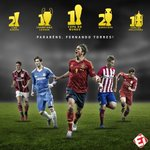 Image for the Tweet beginning: Parabéns, Fernando Torres! O cara