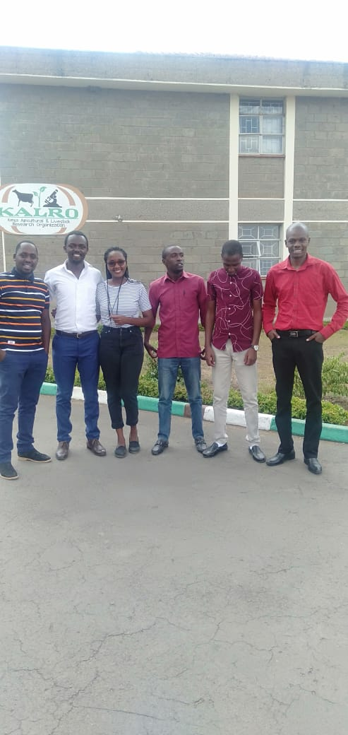We need to appreciate the role of science and technology in food insecurity.  Earlier today with my fellow youths in agribusiness at KALRO-Navasha on a 2-day consultative workshop with @kalromkulima on communicating scientific research <br>http://pic.twitter.com/JTXlaAH0G7