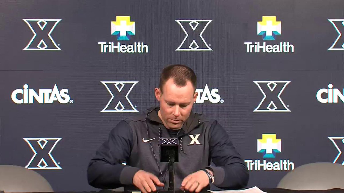 WATCH | Xavier head coach Travis Steele speaks with the media ahead of Wednesday's game with Toledo. #LetsGoX https://t.co/vAXnLuTwWK
