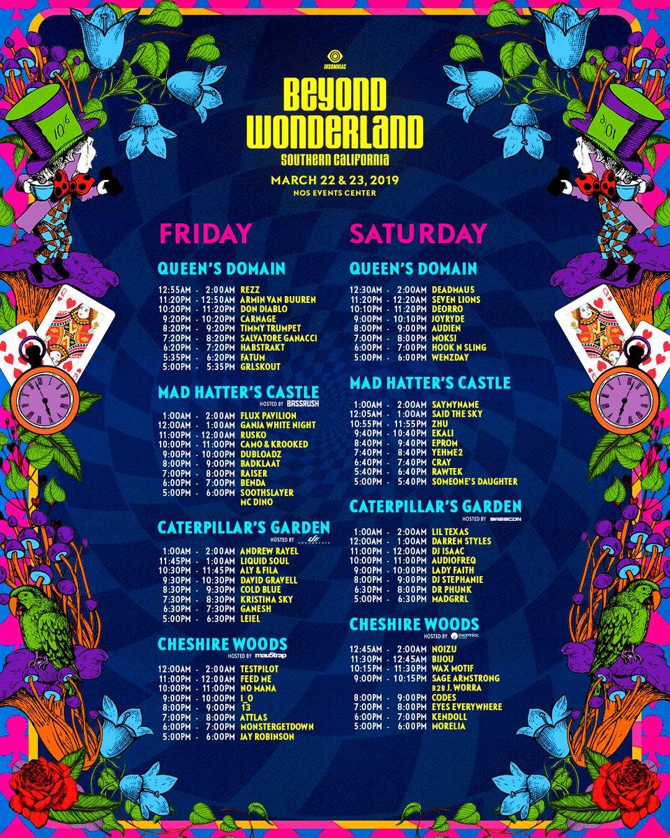 Beyond Wonderland on Twitter: