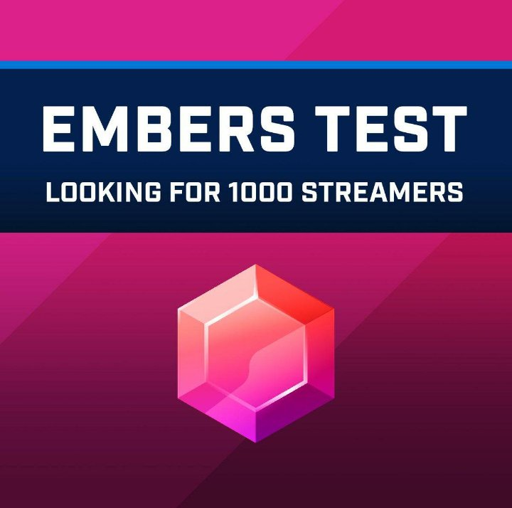 Great news! I&#39;m one of the streamers chosen to test Embers in non-partnered channels. Starting March 25th, you can spend your Embers in my channel! So, Let&#39;s make this a successful test that will hopefully lead to even more great opportunities for non-partnered Mixer streamers <br>http://pic.twitter.com/91pW1Ec3hk
