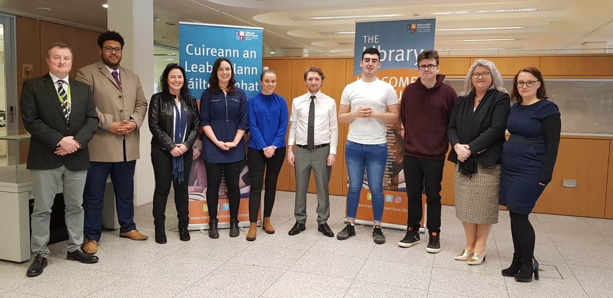 A big congratulations to all our finalists! Many thanks to the students and our 'Dragon's' for taking part in the #IfStudentsDidLibraries competition in @library_MU today!