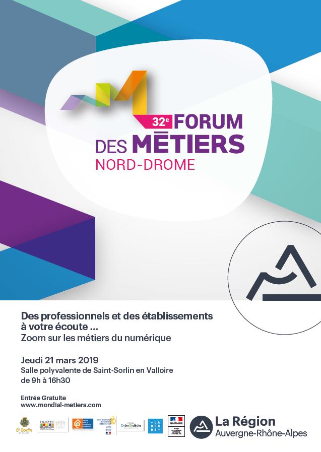 Zoom sur les métiers du #numérique à l'occasion du 32e Forum des Métiers Nord Drôme ce jeudi 21 mars de 9h à 16h30 😀  Venez nombreux échanger avec les professionnels, entreprises et établissements de formation présents ce jour-là #orientation #metiers 👉 https://t.co/t1vuI7lIFi https://t.co/pGc4OhwExK