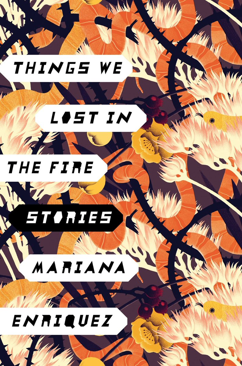 i finished reading Things We Lost in the Fire and just, what an amazing collection of horror stories! i will definitely be looking for more from this author. <br>http://pic.twitter.com/8JETXY73zH