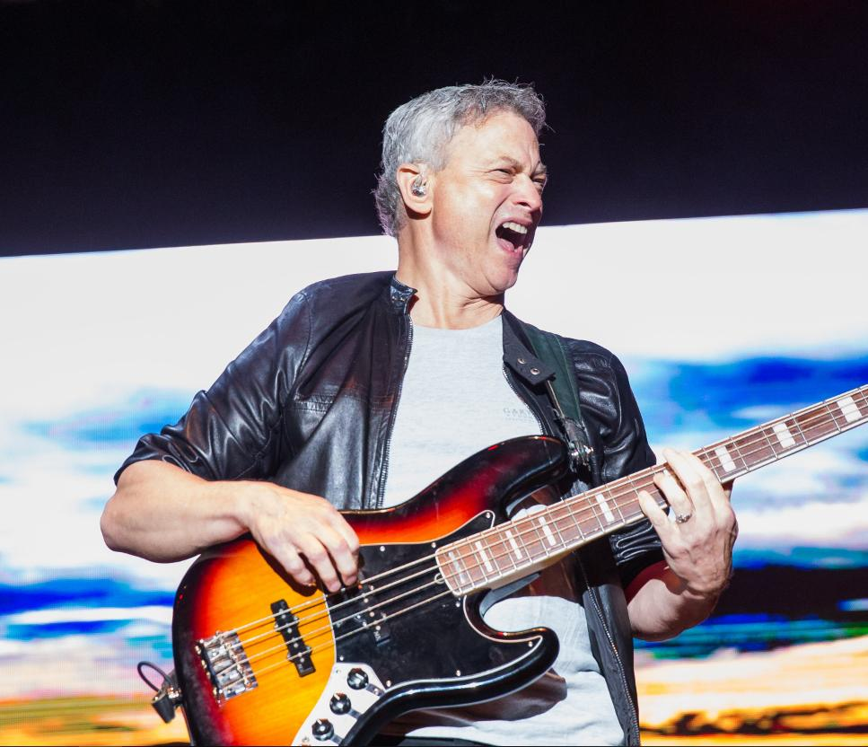 Check out this bass face! Now that is someone who LOVES to honor and serve our heroes! Join @GarySinise  and the Lt. Dan Band for a real rock & roll performance. See you there!  https://www.ltdanband.com/
