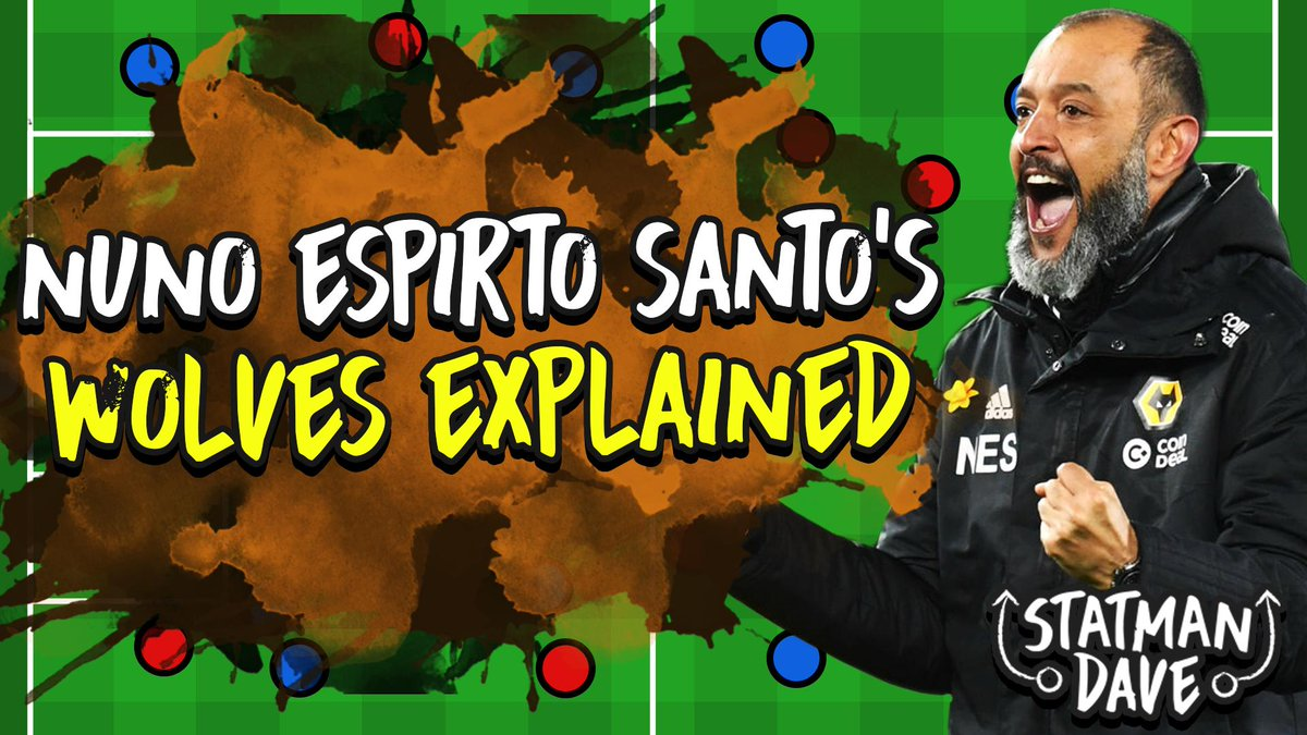 🚨 NEW VIDEO AT 5PM 🚨  Nuno Espirito Santo's Wolves Tactics Explained   WATCH ▶️ http://bit.ly/WolvesTacticsExp …