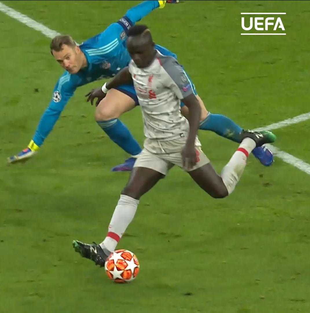 📣 Oh Mané, Mané! 🔴  😯 The touch 😲 The turn  😮 The technique    #UCL | @LFC