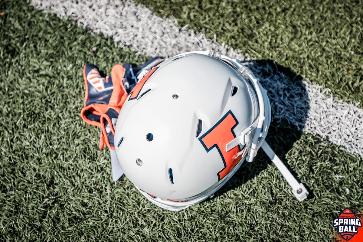 Spring ball begins in  week.   #Illini <br>http://pic.twitter.com/o7M5icKDPR