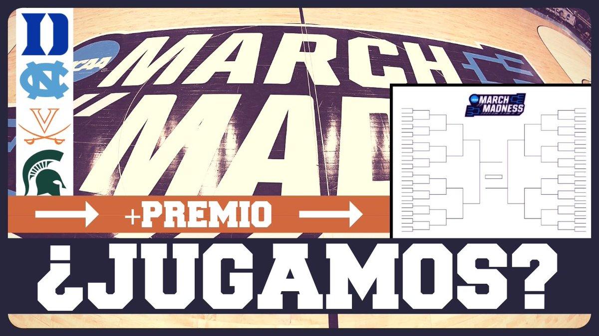 ¡NUEVO VÍDEO!  Equipos y jugadores a seguir en el March Madness 2019...  ¡Y primer torneo Drafteados! (con camiseta de premio) https://youtu.be/TMU0xphwPJw