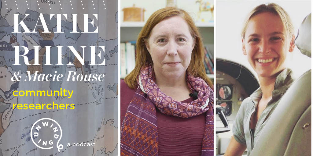"New podcast episode 🚨: Unwinding with KU professor Katie Rhine & senior @kuanthro major Macie Rouse, who tell us about ColLAB, KU's first humanities ""lab"" that brings students & faculty together in the field to address health issues in East Africa. 👂🎙️👉 https://rockcha.lk/Unwinding4"