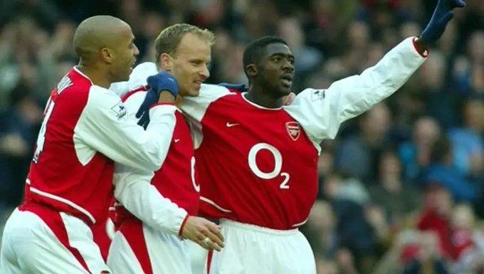 Happy Birthday Kolo Toure.  Invincible 2003-2004  FA Cup (2003-2005)  Community Shield (2002-2004)