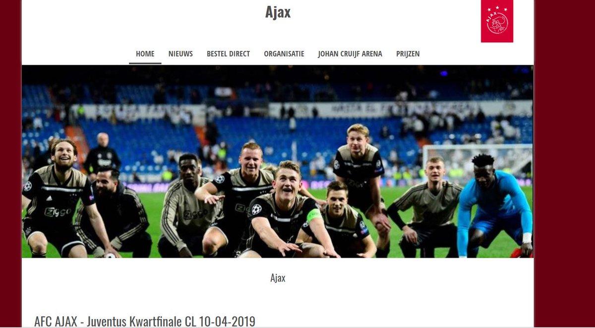 Let op! Er is een website die valse kaarten verkoopt voor Ajax - Juventus.   We zijn met man en macht bezig om deze site offline te krijgen. Koop tickets alleen via http://www.ajax.nl/tickets.    Laat je voorlichten over kaartverkoop via http://www.weetwaarjekoopt.nl.