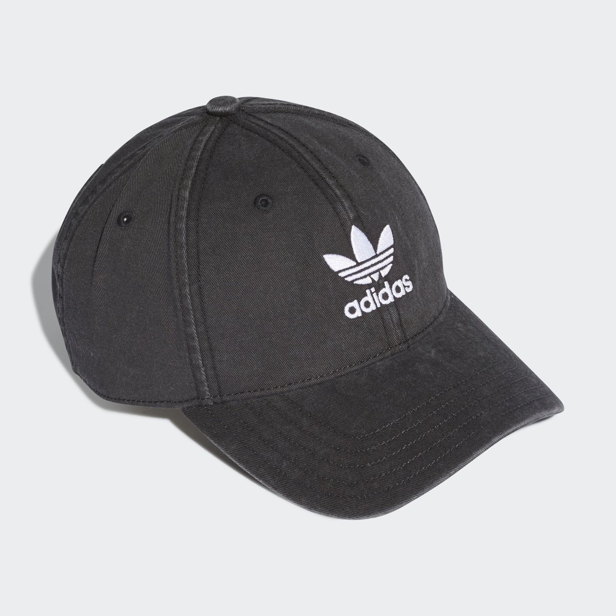 7bb9f2e944e Now available on  adidas US. adidas Trefoil Washed 6-Panel. —   http   bit.ly 2UIeF3X pic.twitter.com yQz7j3b1LZ