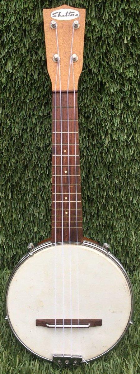 fletcher coppock newman schitnasty sheltone banjo ukulele 1960s banjolele