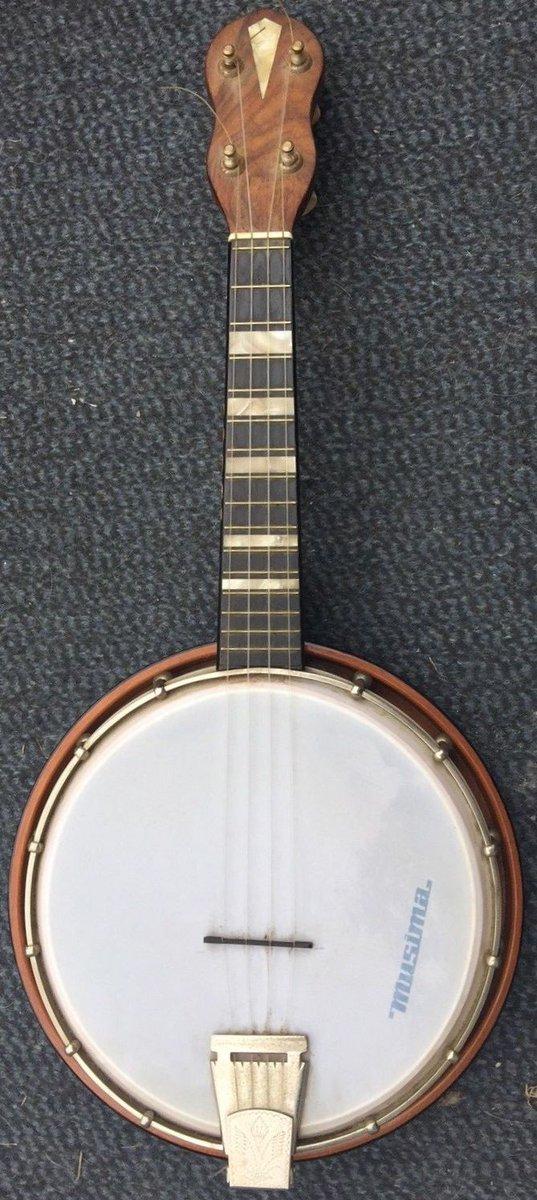 musima ukulele banjo 1960s east germany banjolele