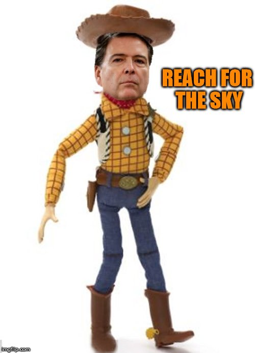 I heard there is a new #ToyStory #ToyStory4 #Buzz #Woody #Comey #DeepState #RussianCollusion #ReachForTheSky