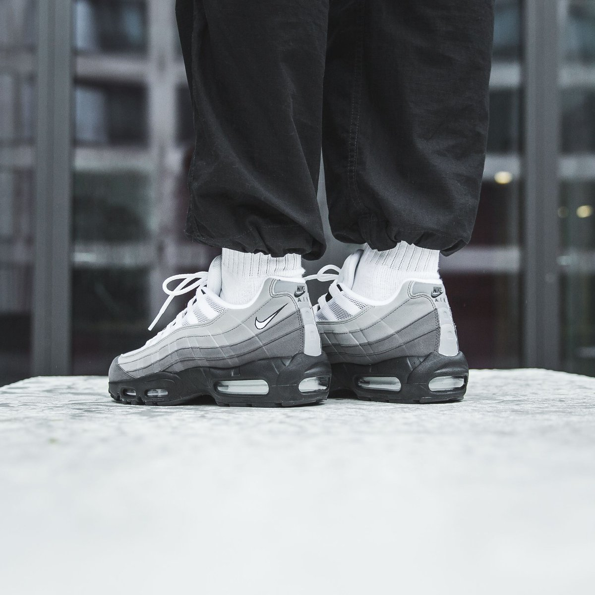 quality design 30e95 25a85 another 1 on sale ❗ Nike Air Max 95 Og - Black White-Granite