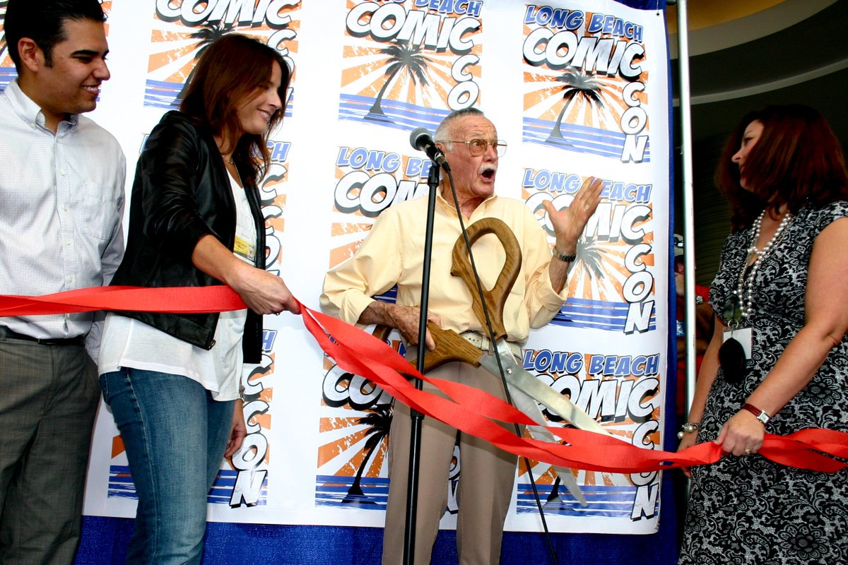 stan lee's photo on #NationalLetsLaughDay