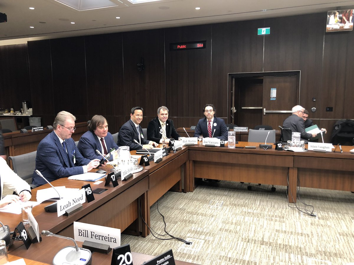 .@CHBANational and @OntarioHBA are currently meeting with members of #HUMA for its study on motion #M190. @_BryanMay, we thank you and members of the Committee for inviting us to discuss how we can help folks in the #skilledtrades in the GTA and Hamilton area. #cdnpoli
