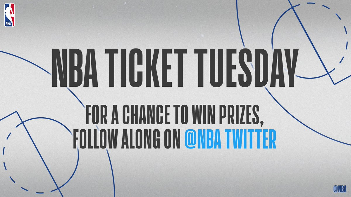 What's the #1 game from @NBAHistory that you wish you could've seen in person? Use #NBATicketTuesday and #Sweepstakes in your reply for a chance to win tickets to an upcoming NBA game!