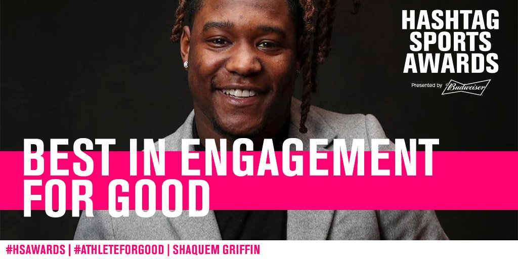 RT to vote for Shaquem Griffin for #AthleteForGood at the #HSAwards!<br>http://pic.twitter.com/gepb7IpmWK