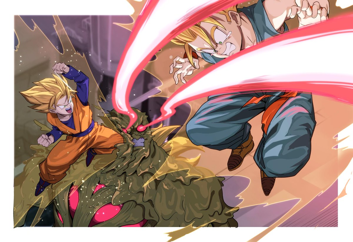 Images découvertes [Fanarts Dragon Ball] - Page 5 D2CMrfpVYAA9Aop