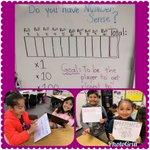 Image for the Tweet beginning: Scholars practicing #numbersense through math