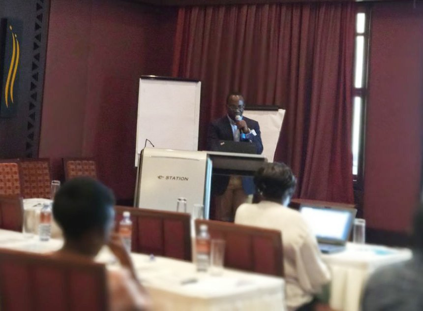 """""""Research on paediatric #HIV treatment should help address challenges experienced by national HIV programmes.""""  Our Project Manager @Drwales_ speaks about how science can support implementation at the Kenyan Paediatric and Adolescent Planning Meeting."""